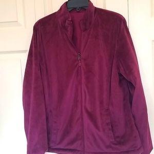 Ideology Reversible Waterproof/Fleece Jacket Sz M